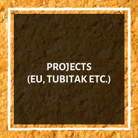 Projects (EU, Tubitak etc.)