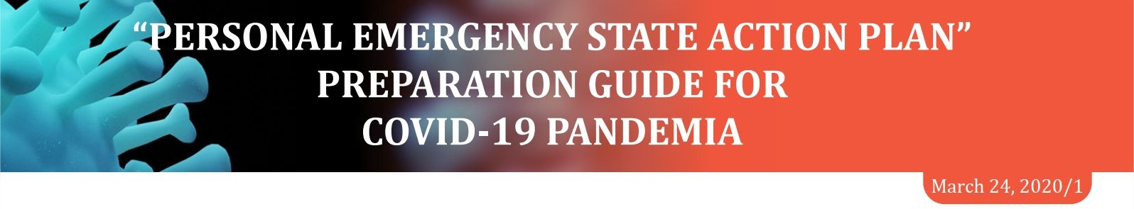 Personal Emergency State Action Plan