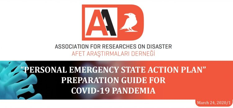 Personal Emergency State Action Preparation Guide' prepared for the COVID-19 Pandemic