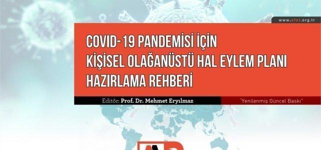 COVID-19 Pandemisi İçin Kişisel Olağanüstü Hal Eylem Planı Hazırlama Rehberi Yenilenmiş Güncel Baskı